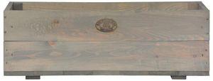 2 Stück Esschert Design Pflanzkasten, 63 x 21 x 21 cm, aus Holz, Holzkasten, Pflanzbox, Holzbox, Blumenkasten