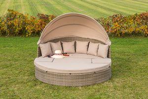 "Merxx Relaxinsel ""Riva"" Lounge Set, 28256-228 - natur/beige"