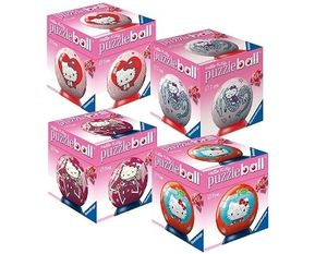 Ravensburger 09509 - Hello Kitty - 60 Teile puzzleball®