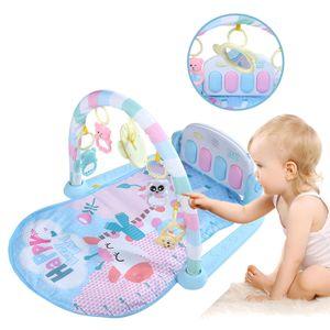 Krabbeldecke Spieldecke Spielbogen Piano Spielmatte Erlebnisdecke Musik Baby Gym Lernmatte Geschenk für Babys