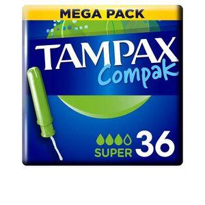 TAMPAX COMPAK tampón super 36 uds