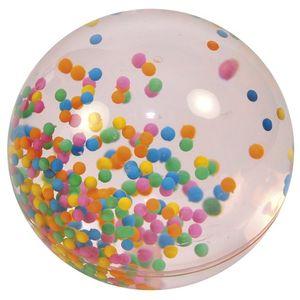 EDUPLAY Riesenflummi mit Wasser und Kügelchen gefüllt, ca. Ø 10 cm, bunt (1 Stück)