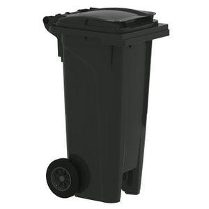 Bauer Mülltonne 80 l Schwarz