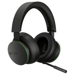 Microsoft Xbox Wireless, Kopfhörer, Kopfband, Gaming, Schwarz, Bluetooth-Pairing, Lautstärke +, Lautsärke -, Knopf