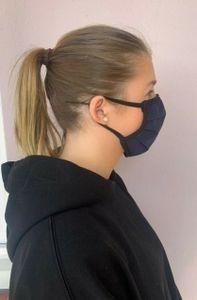 Behelfs- Mund- und Nasenmaske wiederverwendbar Hygienemaske Gesichtsmaske Mundmaske Mundschutz  waschbar