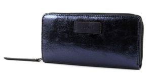 ESPRIT Christy Cash Zip Wallet Dark Blue