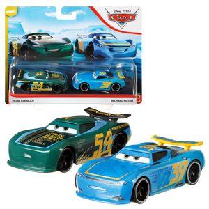 Auswahl Doppelpack | Disney Cars | Fahrzeug Modelle 2020 | Cast 1:55 | Mattel, Typ:Herb Curbler & Michael Rotor