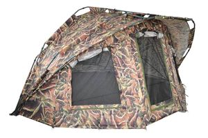 Bivvy MK Fort Knox Nature Pro Dome 2Mann Angelzelt