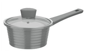 GSW Stielkasserolle Bolero mit Glasdeckel 18cm Kochtopf Suppentopf Induktion