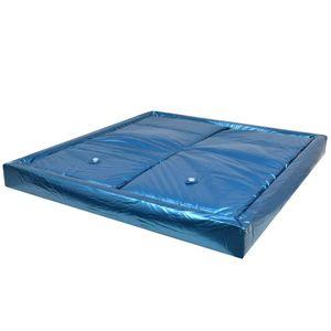 SIRUITON Wasserbettmatratzen-Set mit Einlage + Trennwand 200 X 220 cm F3