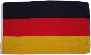 Flagge Deutschland 90 x 150 cm  - Fahne- reißfest - rissfest - Hissfahne- Hissflagge - Sturmflagge -zum hissen -