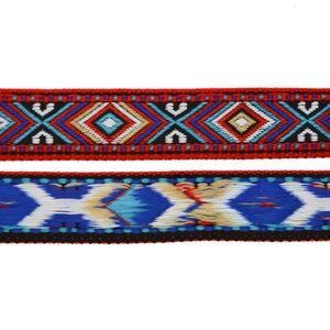 1m / Meterware Dekoband - Mexiko - gewebtes Band Gurtband, Farb- und Breitenwahl, Größe:16mm, Farbe:mehrfarbig 6