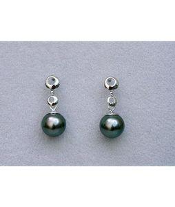 Luna-Pearls Tahitiperlen Ohrringe