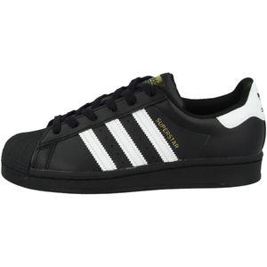 adidas Originals Superstar Junior Sneaker Kinder Schwarz/Weiß (EF5398) Größe: 38