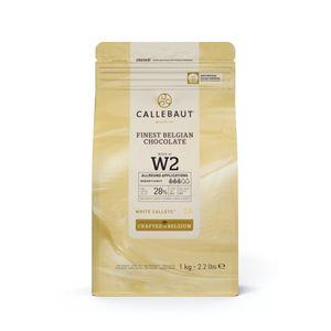 weiße Schokolade 1kg Callets, Callebaut