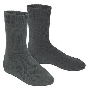 1 Paar Extra Thermo Winter Socken anthrazit-43-46