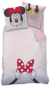 Disney Minnie-Mouse Renforcé-Bettwäsche 135 x 200 cm