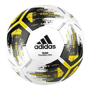 adidas TEAM TRAINING PRO Fußball Ball Weiß, Größe:4