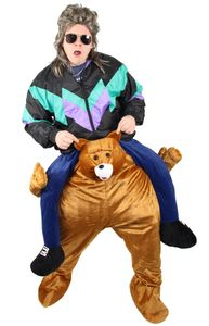 Aufsitzkostüm Bär Huckepack Kostüm