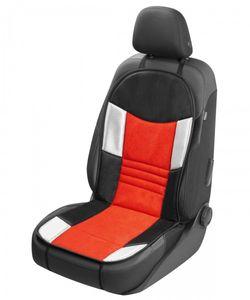 coole Universal Auto Polyester Mesh Sitzauflage Hunt rot, weiche 16 mm Schaumstoff Kaschierung, PKW Sitzauflage