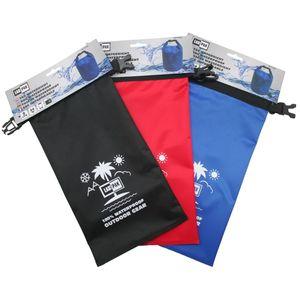Wasserdicht Seesack Tasche Sack Rollbeutel Packsack Aqua Bag Camping 2 Liter Schwarz