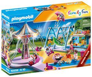 PLAYMOBIL Family Fun 70558 Großer Vergnügungspark