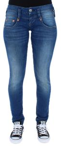 Herrlicher Damen Jeans Gila, Pitch, Touch, Piper, DAMEN JEANS:W27/L32, Herrlicher Farben:Pitch Slim Denim Powerstretch - 634 bliss
