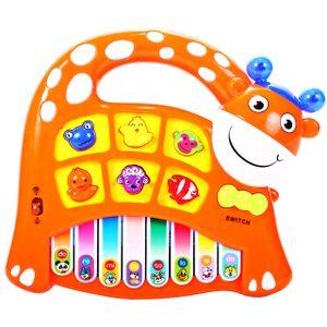 MalPlay Musikspielzeug   Baby erstes Keyboard   Piano Tier-Keyboard mit Tiergeräusche   Babyspielzeug Lernspielzeug für Kinder ab 3 Jahre Jungen und Mädchen