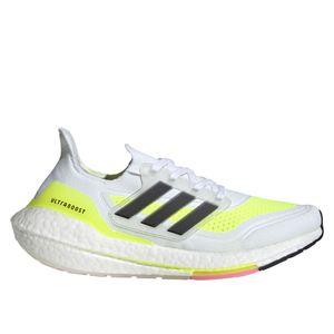 Adidas Ultraboost 21 W Ftwwht/Cblack/Syello 40 2/3