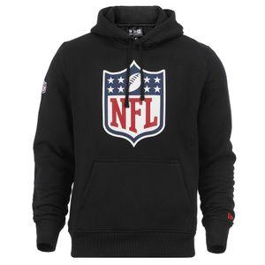 New Era - NFL Shield Logo Hoodie - Schwarz Farbe: Schwarz Größe: L