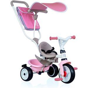 Smoby 741401 Dreirad Baby Balade Plus, Rosa