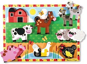Puzzle Tiere auf dem Bauernhof 8tlg.