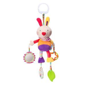 Baby Kinder Kinderwagen Kinderbett Handbell Kinderwagen hängen Hand Glocke Anhänger Kuscheltier,Hase