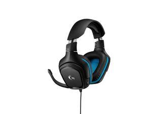 Logitech G G432 - Kopfhörer - Kopfband - Gaming - Schwarz - Blau - Binaural - 7.1 Kanäle