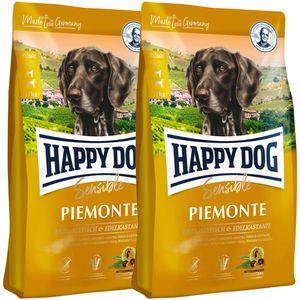 2 x 10 kg Happy Dog Supreme Sensible Piemonte