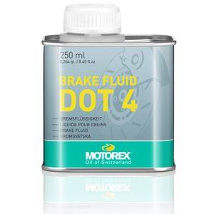 Motorex Brake Fluid DOT 4 250 ml Bremsflüssigkeit Bremse Racefoxx