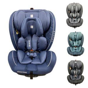 Kikkaboo Kindersitz Rhino Isofix Gruppe 0+/1/2/3 (0-36 kg) Reboarder Stützkissen blau