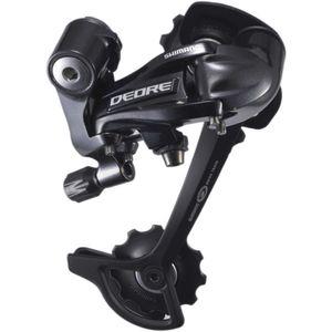 Shimano Deore RD-M591 Schaltwerk 9-fach Fahrrad Bike MTB Schaltwerk Schaltung 9 Gang, Farbe:schwarz