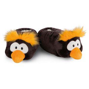 Nici Plüsch Hausschuhe Pinguin Frizzy, Größe:Größe 38-41