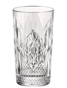 Bormioli Rocco 666219 Stone Longdrinkglas, 490ml, Glas, transparent, 6 Stück