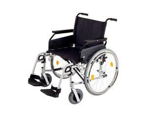 Schwerlast-Rollstuhl Drive Medical Rotec XL, faltbar, bis 190 kg belastbar, Sitzbreite:61 cm