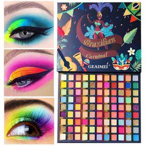 99 Farben Lidschatten Palette Make-up Palette, Glitter und Matt & Shimmer Lidschatten, Hochpigmentierte Schminkpalette