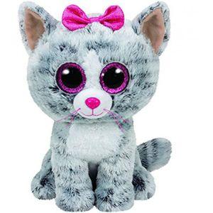 TY Beanie Boo regular 15 cm Kiki Grey Cat