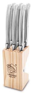Laguiole Style de Vie Steakmesser Premium Line Edelstahl 6 Stück