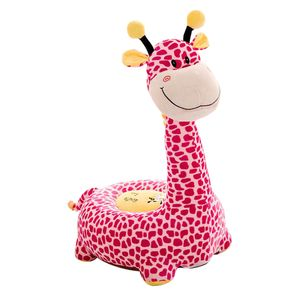 Kinder Tiere Sitzsackhülle Sitzsack Sitzkissen Sitzsäcke Hülle Bezug Rosa Giraffe (Fahrt) wie beschrieben