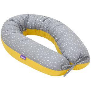 Schwangerschaftskissen [Eklipse Sterne] Stillkissen Lagerungskissen Seitenschläferkissen XL 170cm