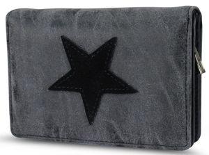 Damen Stern Geldbörse - Schwarz