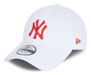 New Era - MLB New York Yankees League Essential 9Forty Strapback Cap - Weiß : Weiß One Size Farbe: Weiß Größe: One Size