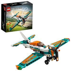 LEGO 42117 Technic Rennflugzeug & Jet-Flugzeug, 2-in-1 Spielzeug für Kinder ab 7, Geschenke zum Geburtstag oder zu Weihnachten für Jungen und Mädchen