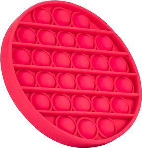 Toy Pop Push Pop It -  & kinderfreundlich - für Kinder & Erwachsene - Push Bubble zur Ablenkung bei Stress & Nervosität Pink